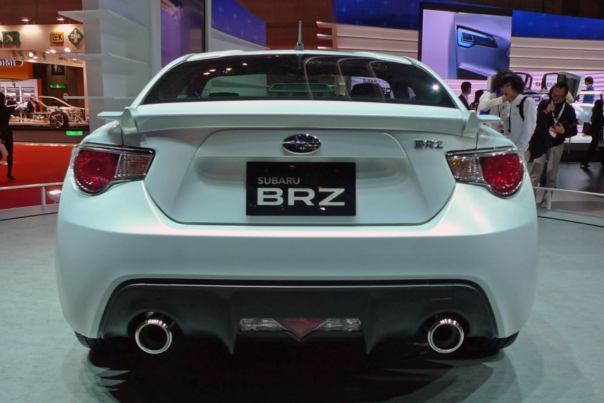 LIVE from Tokyo: Subaru BRZ, sister of the prom queen Image #78787