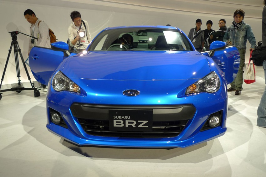 LIVE from Tokyo: Subaru BRZ, sister of the prom queen Image #78790