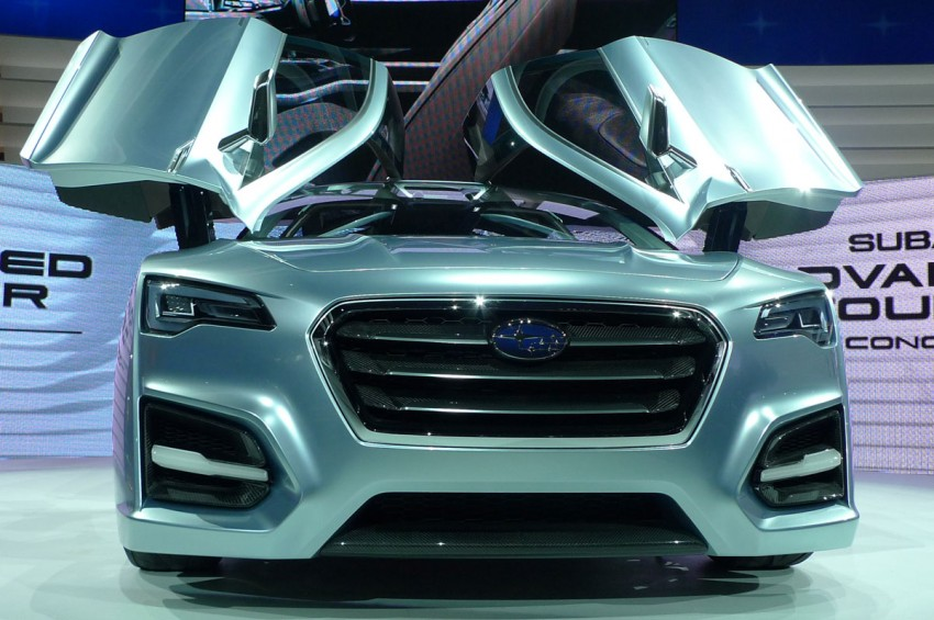LIVE from Tokyo: Subaru Advanced Tourer Concept stands out in a sharp suit Image #78521