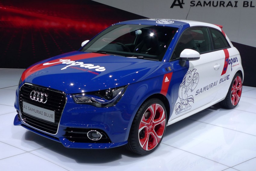 LIVE from Tokyo: Audi A1 Samurai Blue for the footie fans Image #78610