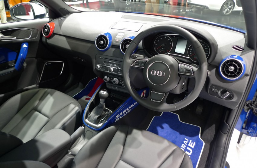 LIVE from Tokyo: Audi A1 Samurai Blue for the footie fans Image #78616