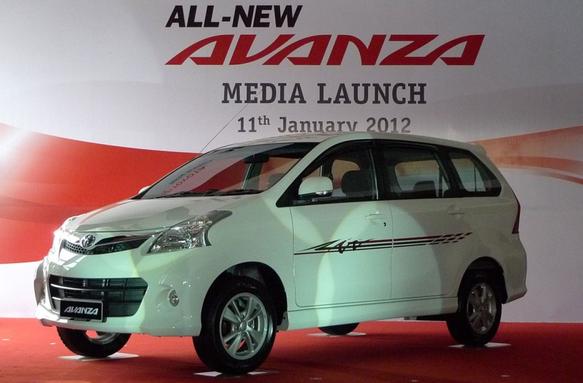 2012 Toyota Avanza launched – RM64,590 to RM79,590 Image #83569