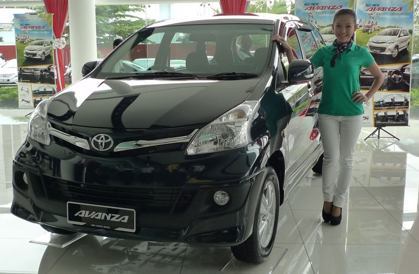 2012 Toyota Avanza launched – RM64,590 to RM79,590 Image #83570