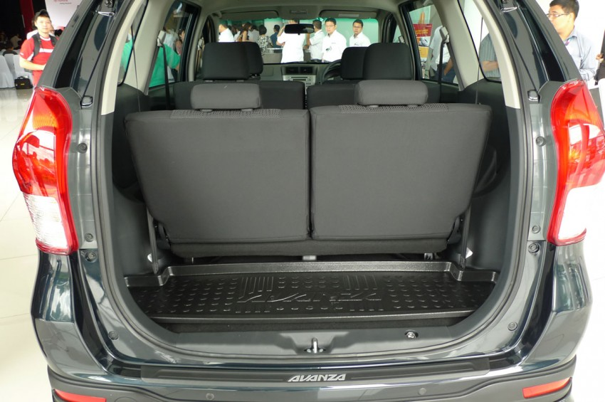2012 Toyota Avanza launched – RM64,590 to RM79,590 Image #83571