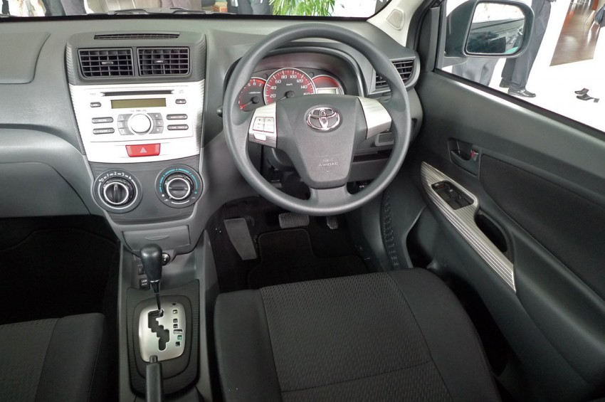 2012 Toyota Avanza launched – RM64,590 to RM79,590 Image #83574
