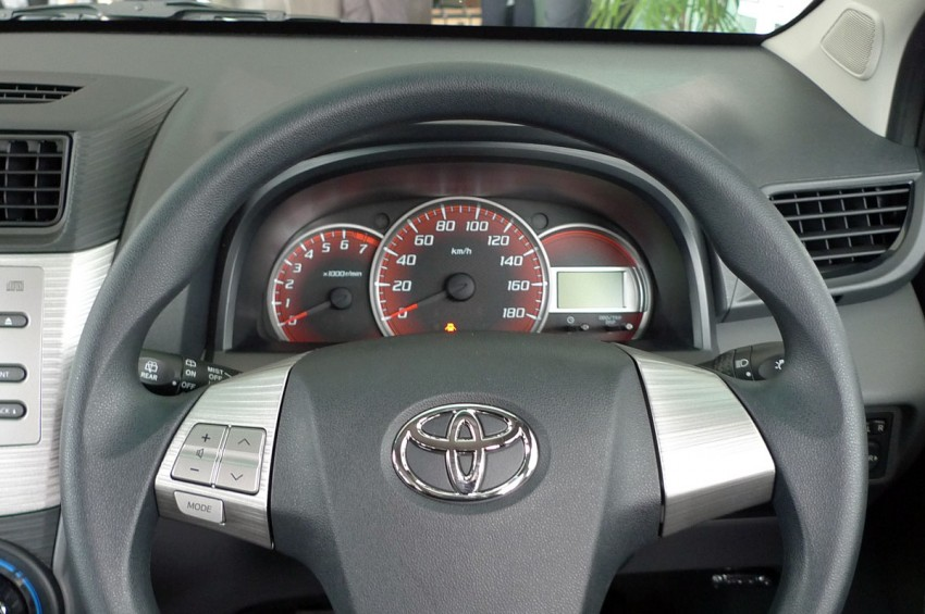 2012 Toyota Avanza launched – RM64,590 to RM79,590 Image #83575