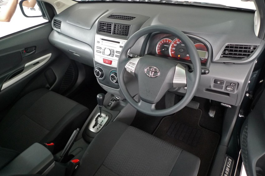 2012 Toyota Avanza launched – RM64,590 to RM79,590 Image #83583