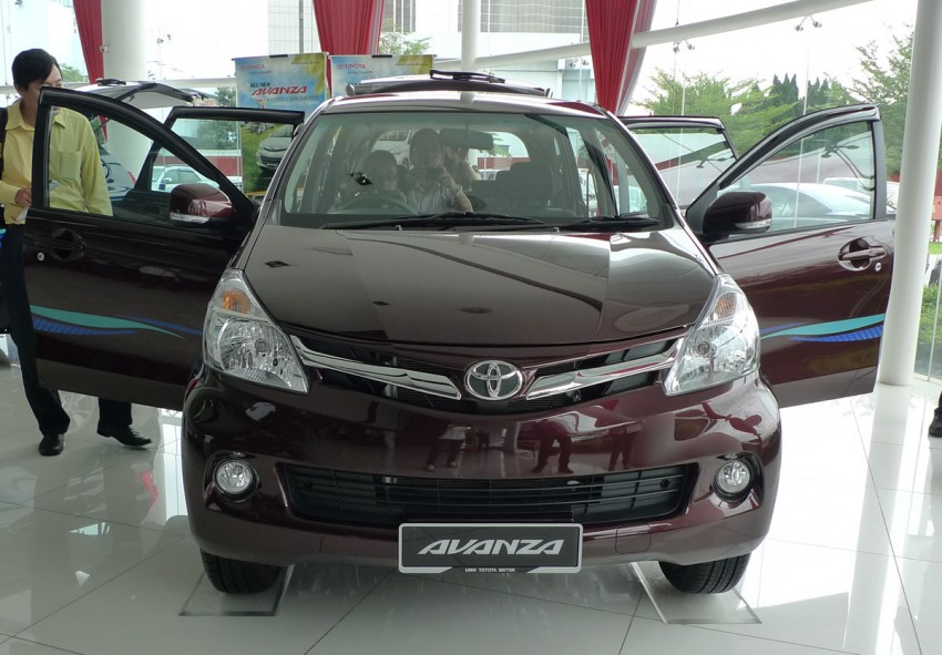 2012 Toyota Avanza launched – RM64,590 to RM79,590 Image #83584