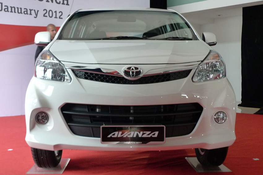 2012 Toyota Avanza launched – RM64,590 to RM79,590 Image #83595
