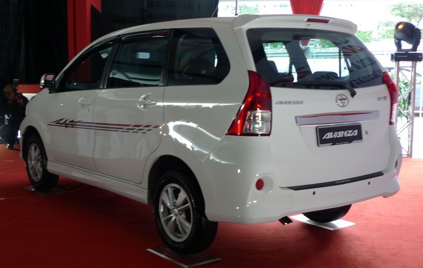 2012 Toyota Avanza launched – RM64,590 to RM79,590 Image #83596
