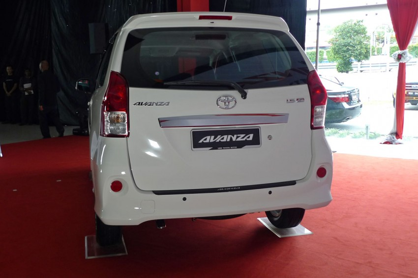 2012 Toyota Avanza launched – RM64,590 to RM79,590 Image #83597