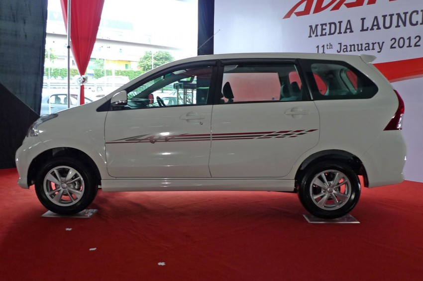 2012 Toyota Avanza launched – RM64,590 to RM79,590 Image #83598