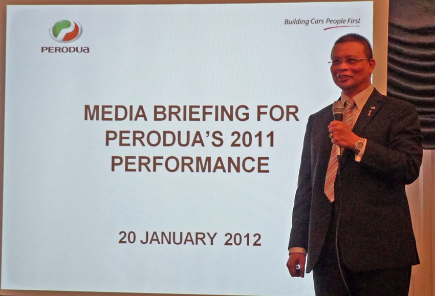 Perodua sold 180k cars in 2011, takes 30% market share Image #84798