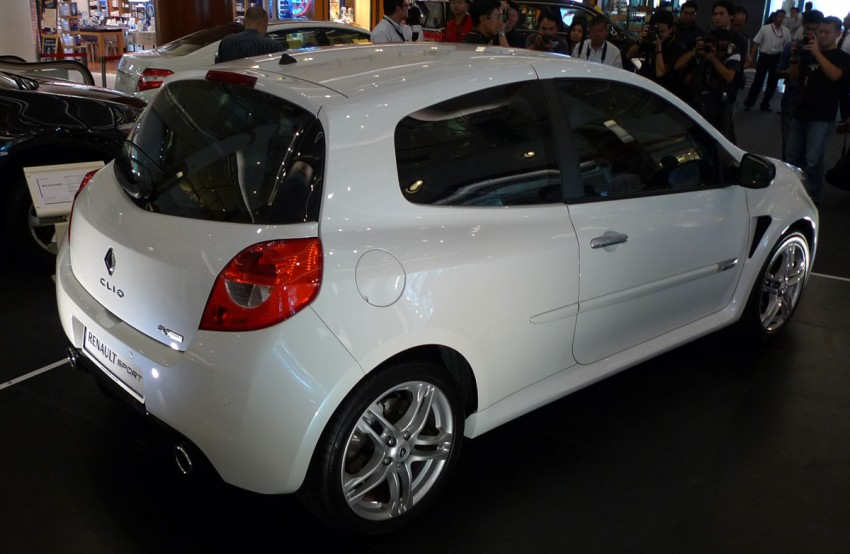 Renault Clio RS 200 Cup – Angel & Demon edition, RM199k Image #88106