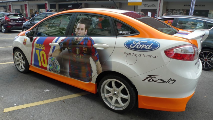 Ford Fiesta Best-Dressed Contest sees five Munich-bound Image #99792
