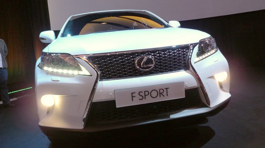 Lexus RX facelift arrives – four in all, RM356k to RM525k Image #105534