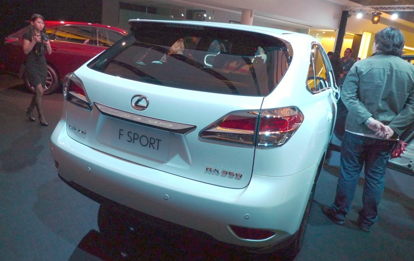 Lexus RX facelift arrives – four in all, RM356k to RM525k Image #105549