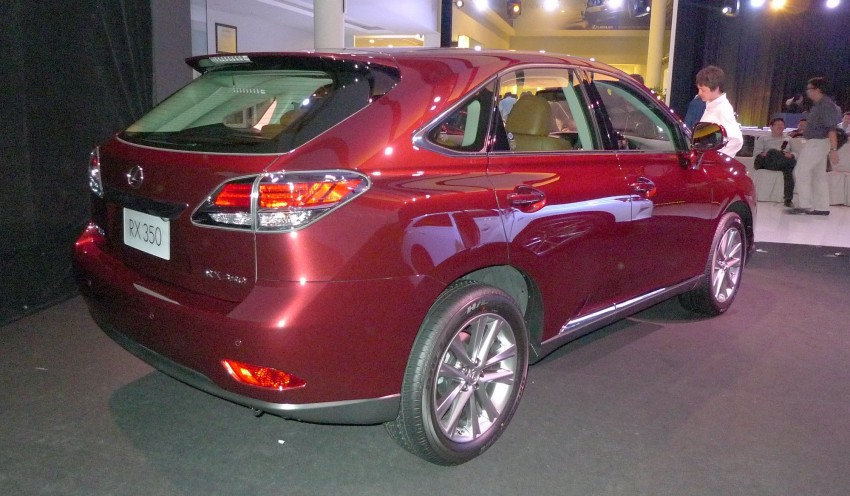 Lexus RX facelift arrives – four in all, RM356k to RM525k Image #105551