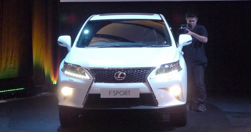 Lexus RX facelift arrives – four in all, RM356k to RM525k Image #105553