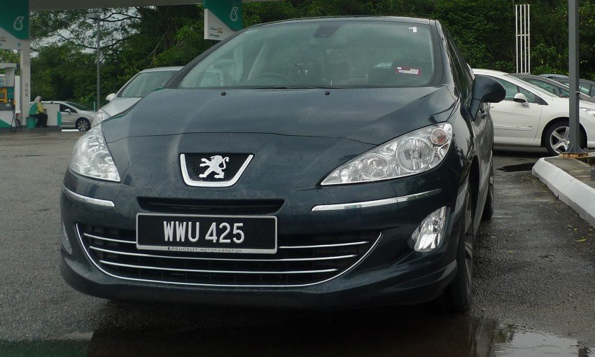 DRIVEN: Peugeot 408 Turbo and 408 2.0 Image #113285