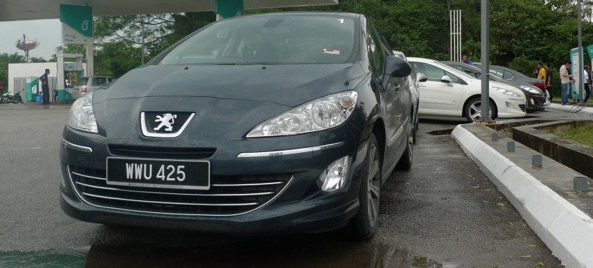 DRIVEN: Peugeot 408 Turbo and 408 2.0 Image #113286