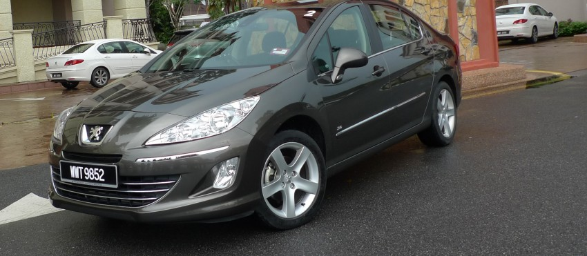 DRIVEN: Peugeot 408 Turbo and 408 2.0 Image #113295