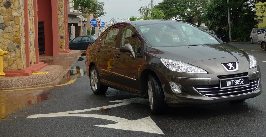 DRIVEN: Peugeot 408 Turbo and 408 2.0 Image #113297