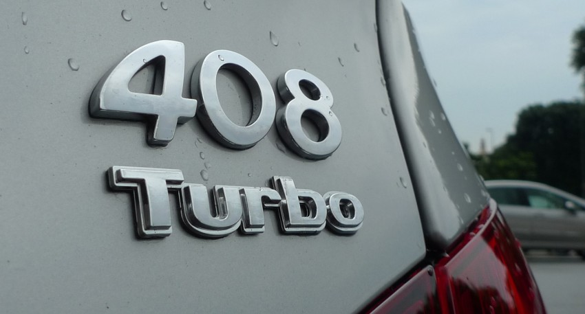 DRIVEN: Peugeot 408 Turbo and 408 2.0 Image #113313