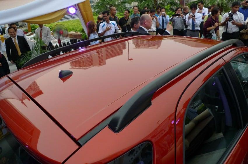 Suzuki SX4 gets a new face – CBU Japan, RM91,888 Image #122779