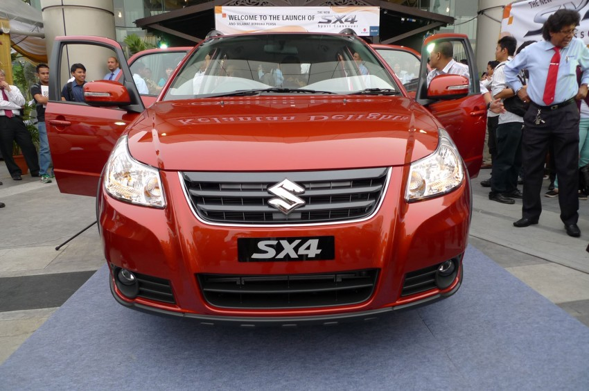 Suzuki SX4 gets a new face – CBU Japan, RM91,888 Image #122795