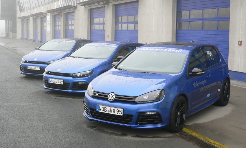 Volkswagen Golf R and Scirocco R siblings sampled Image #116406