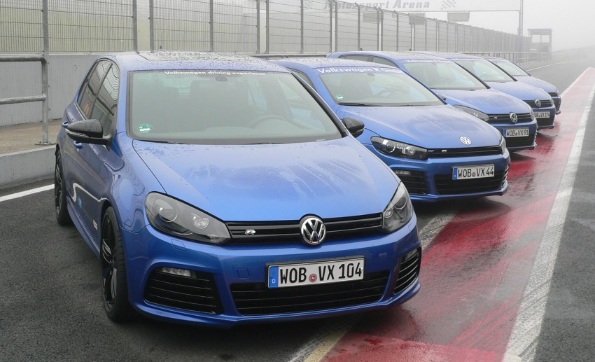 Volkswagen Golf R and Scirocco R siblings sampled Image #116379
