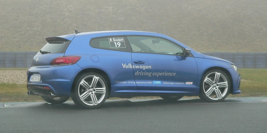 Volkswagen Golf R and Scirocco R siblings sampled Image #116384