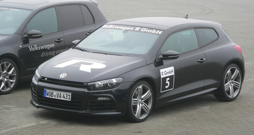 Volkswagen Golf R and Scirocco R siblings sampled Image #116385