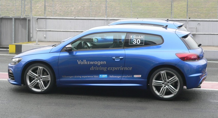 Volkswagen Golf R and Scirocco R siblings sampled Image #116389