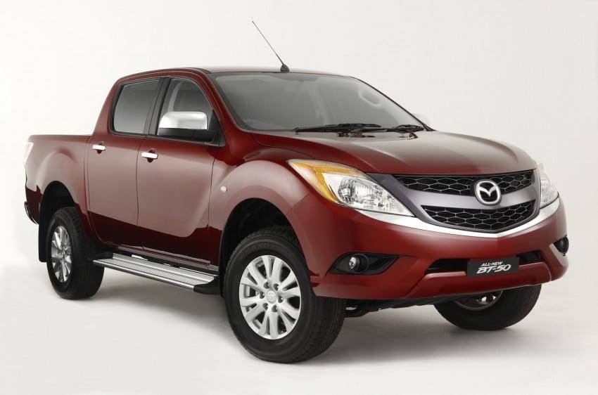 Mazda BT-50 pick-up truck sighted at Westport Image #113994