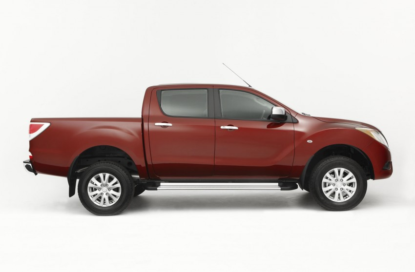Mazda BT-50 pick-up truck sighted at Westport Image #113995