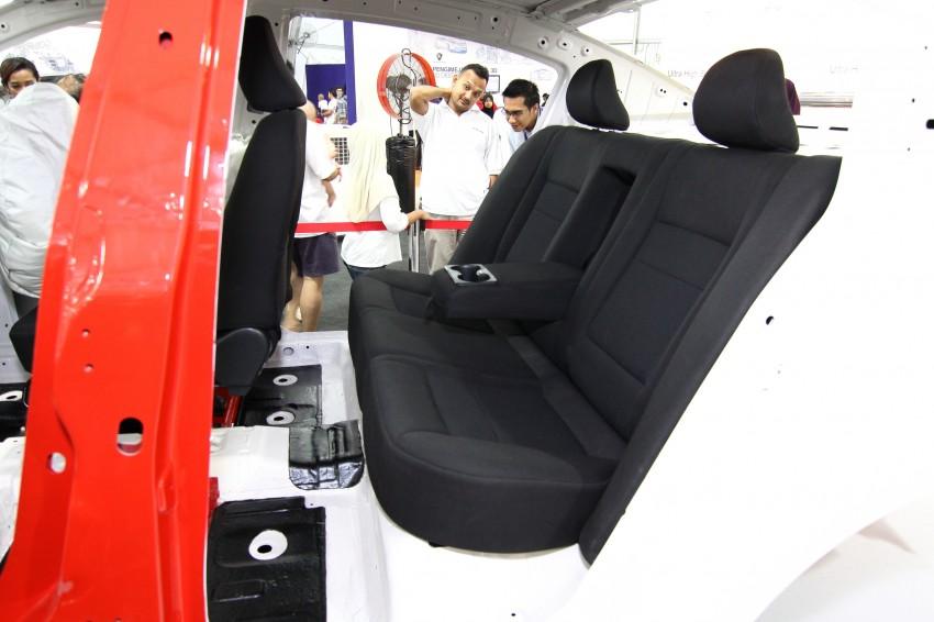 Proton P3-21A build-up process Day 5: Fabric Seats Image #94176