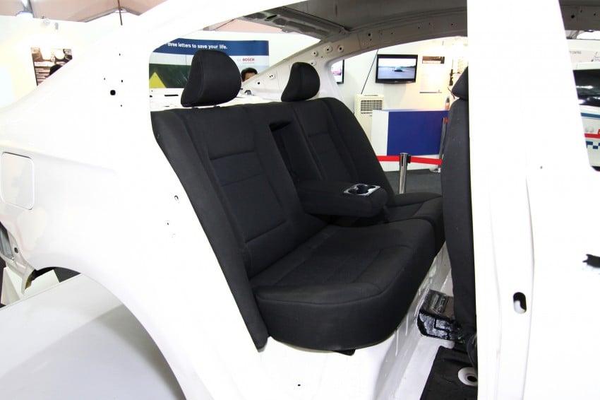 Proton P3-21A build-up process Day 5: Fabric Seats Image #94178