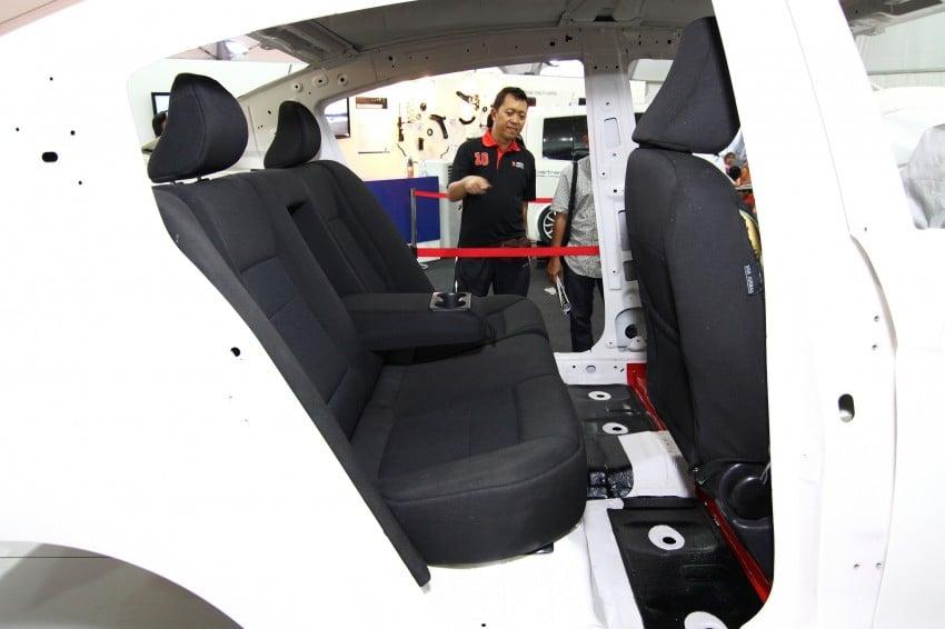 Proton P3-21A build-up process Day 5: Fabric Seats Image #94179