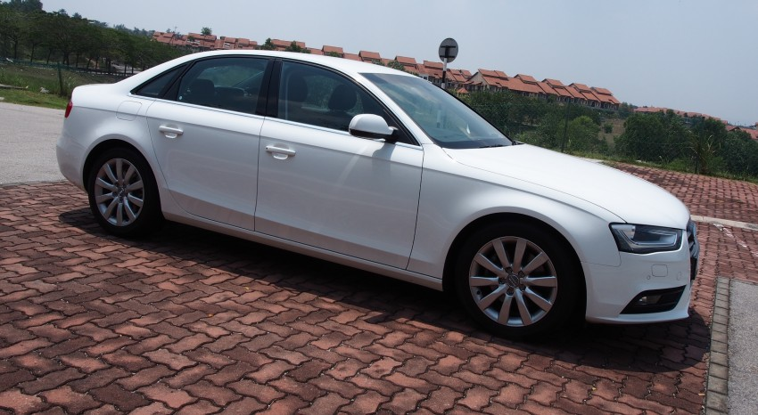 Audi A4 1.8 TFSI review: the B8 gets more efficient Image #124612
