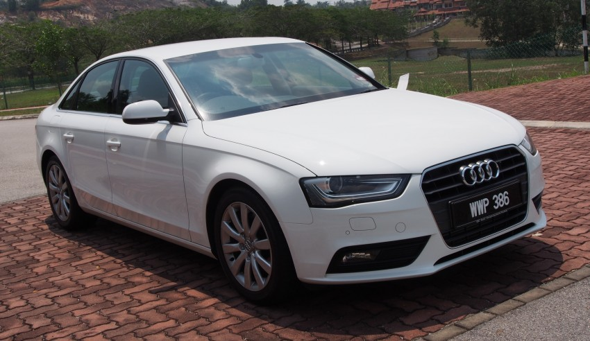 Audi A4 1.8 TFSI review: the B8 gets more efficient Image #124613