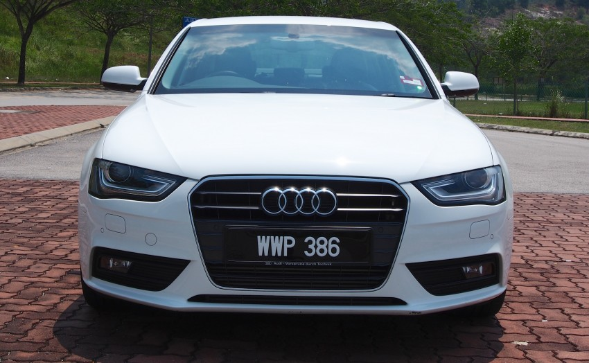 Audi A4 1.8 TFSI review: the B8 gets more efficient Image #124614