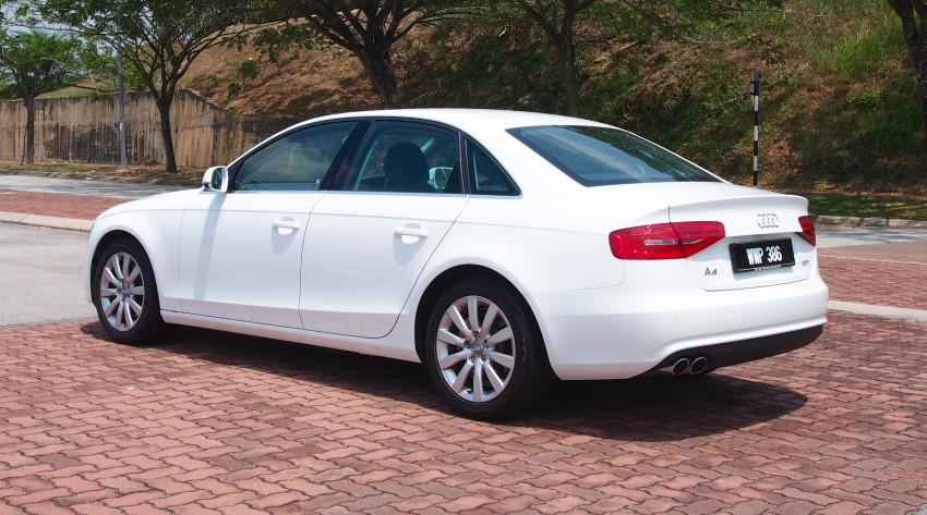 Audi A4 1.8 TFSI review: the B8 gets more efficient Image #124606