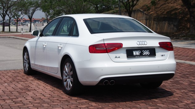 audi a4 1.8 tfsi review: the b8 gets more efficient