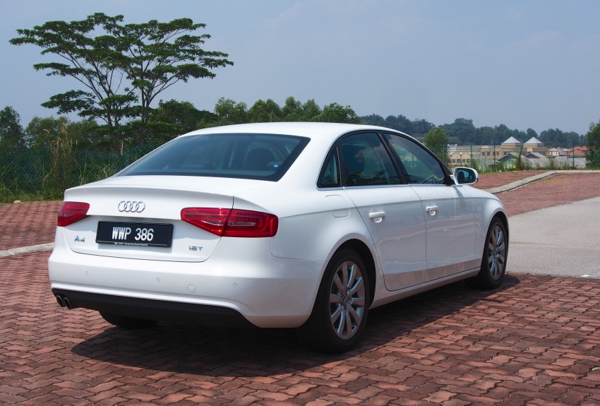 Audi A4 1.8 TFSI review: the B8 gets more efficient Image #124603