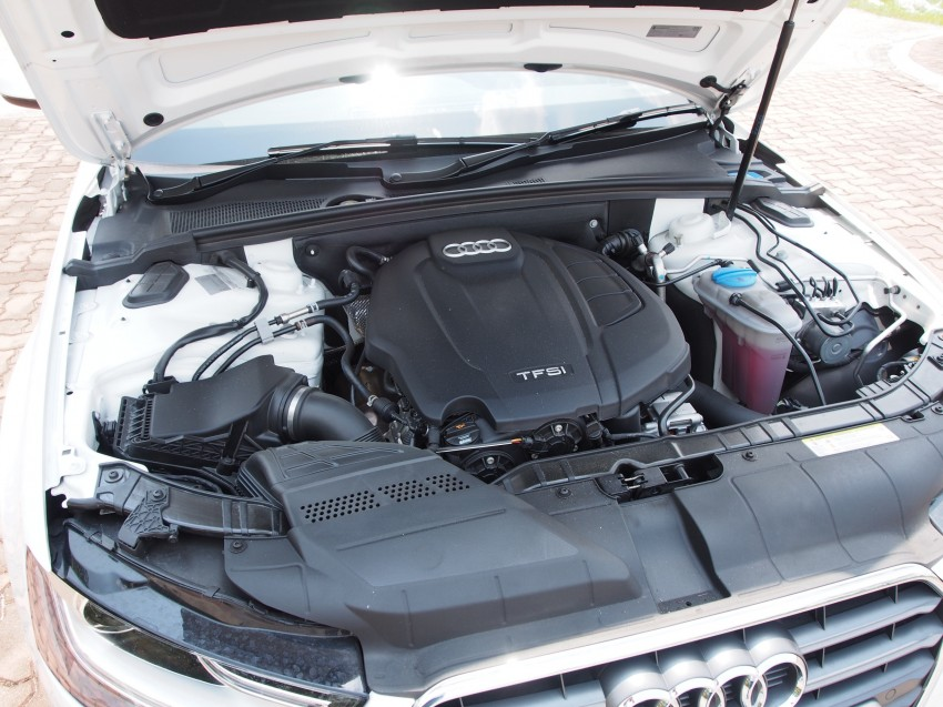 Audi A4 1.8 TFSI review: the B8 gets more efficient Image #124602