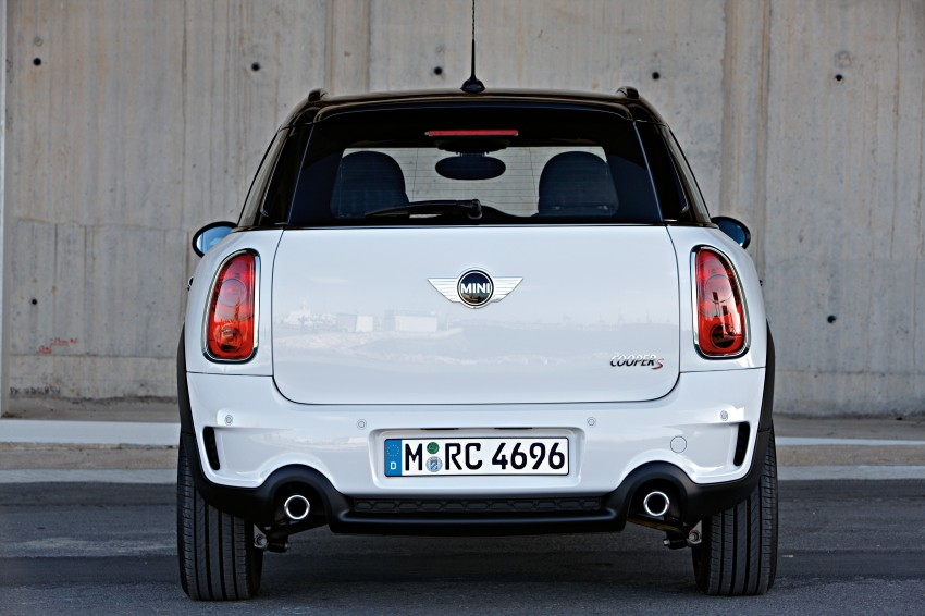 VIDEO: MINI Cooper S Countryman Review Image #66517