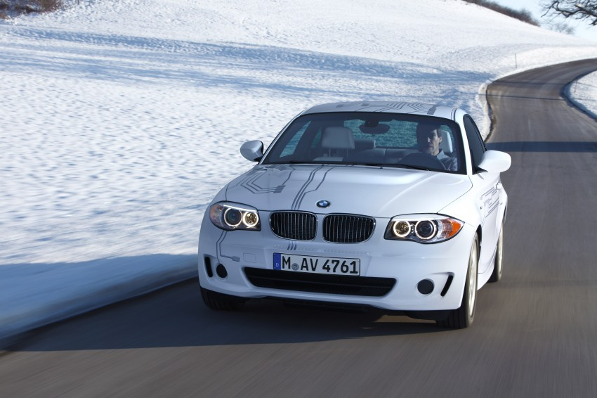 DRIVEN: BMW ActiveE, an electric 1-Series coupe Image #73203