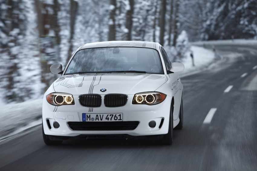 DRIVEN: BMW ActiveE, an electric 1-Series coupe Image #73205